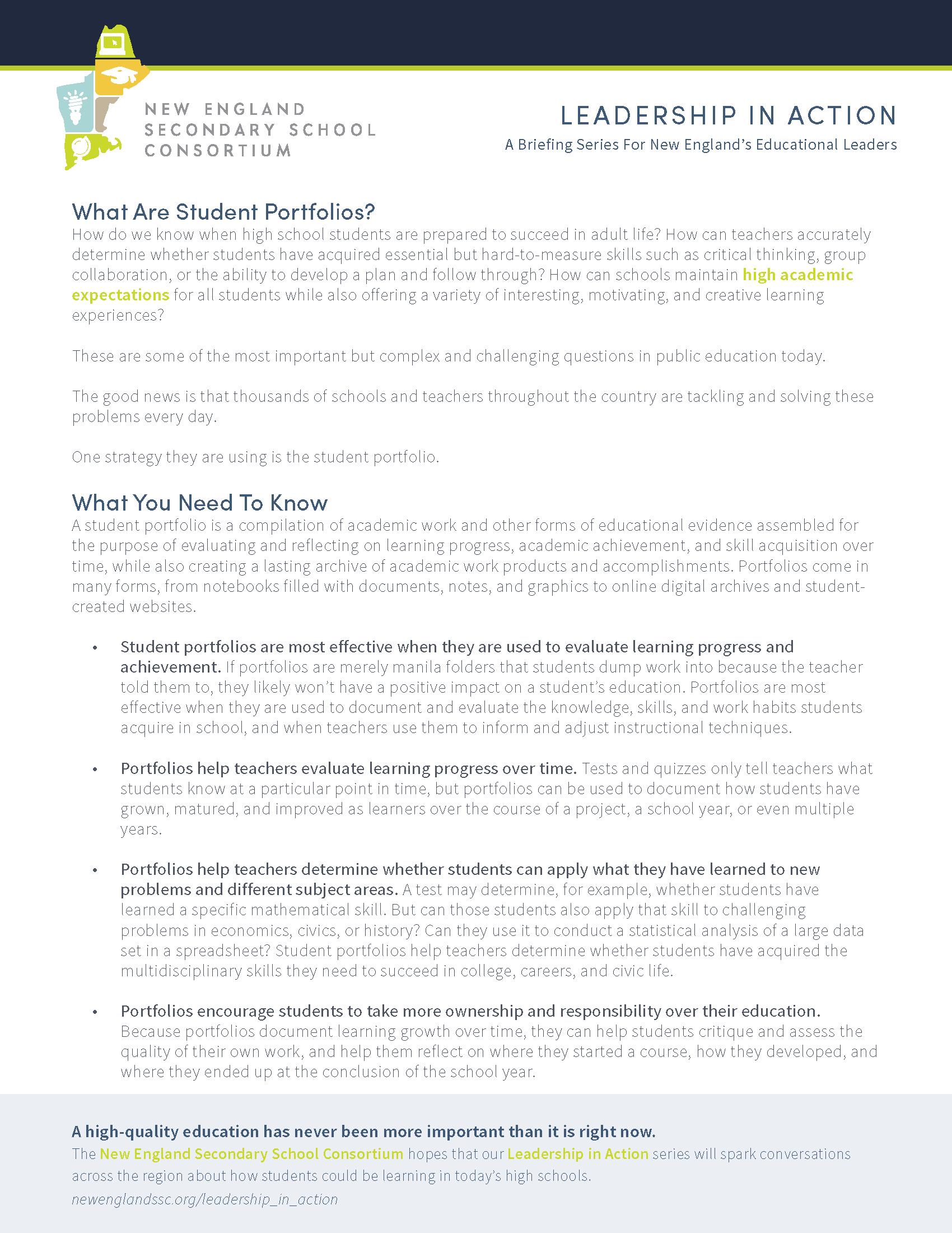 Leadership in Action | Great Schools Partnership