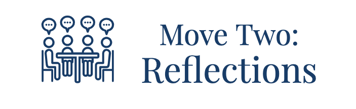 Move Two: Reflections